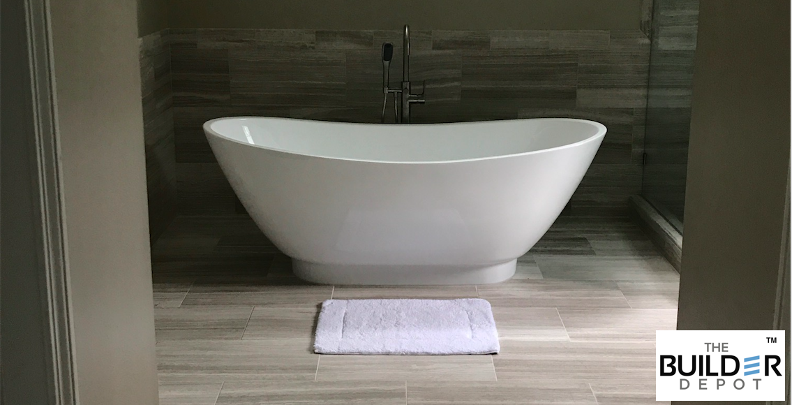 Bathroom 12x24 White Oak Silver Cream