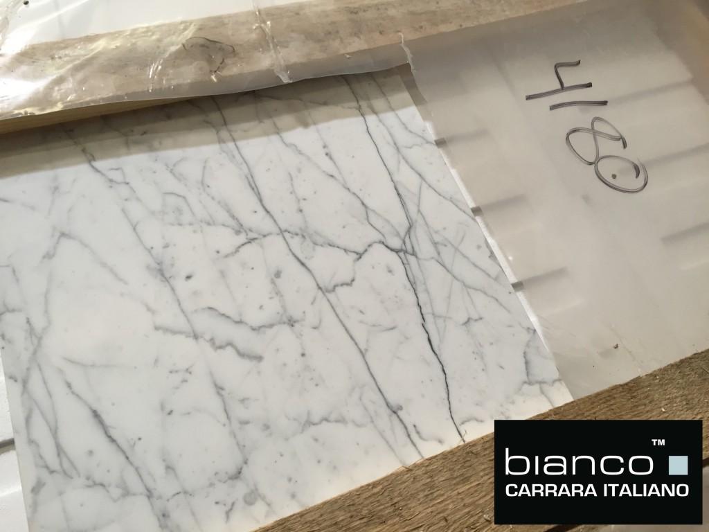 "Carrara Bianco 16x16"" Tile"
