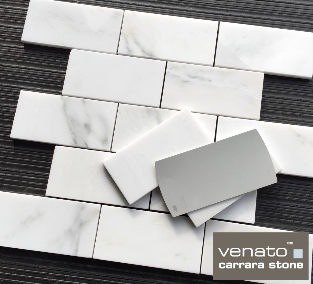Venato Carrara 3x6 Subway Marble Tile