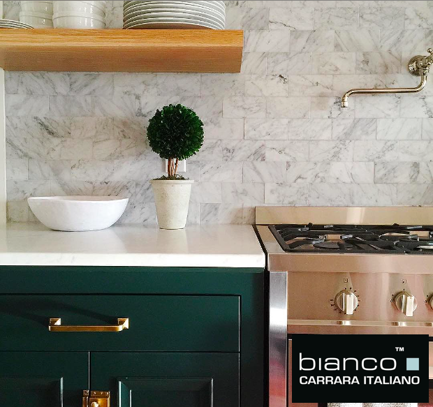 Bianco Carrara 3x6 Subway Tile