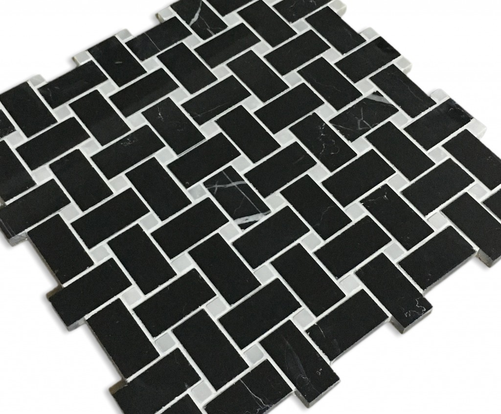 Black Marble with a White Dot