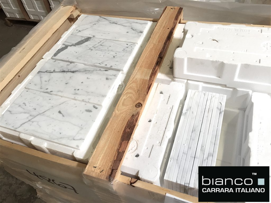 Bianco Carrara 6x12 Subway Tile
