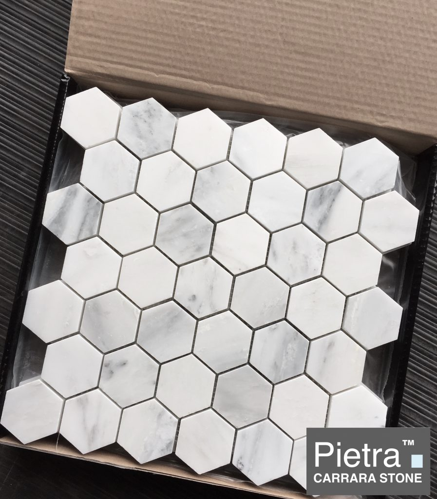 Carrara Hexagon in the Box