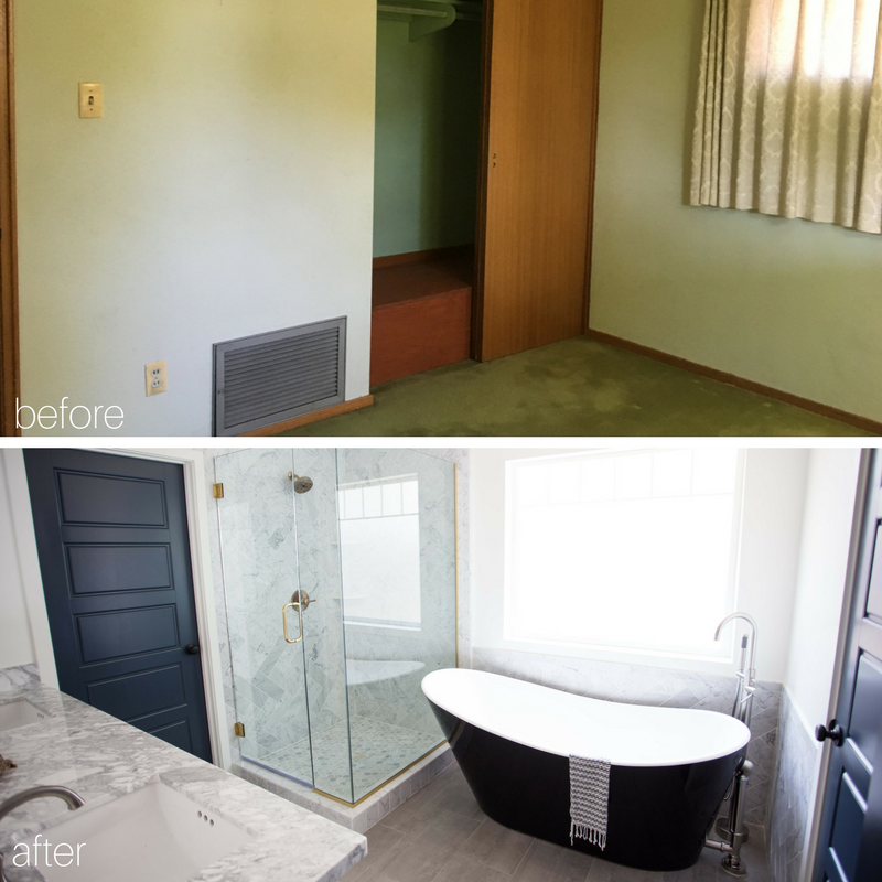 Bianco Bathroom Before and After