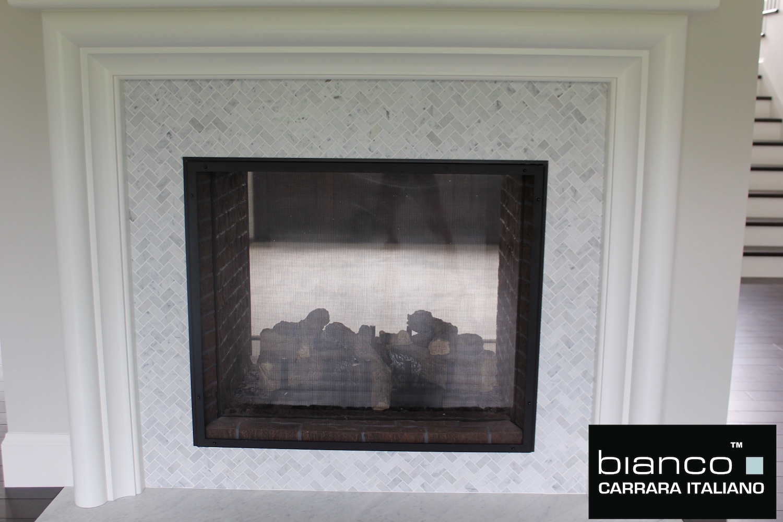 Bianco Fireplace
