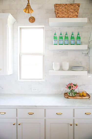 Carrara Venato Backsplash