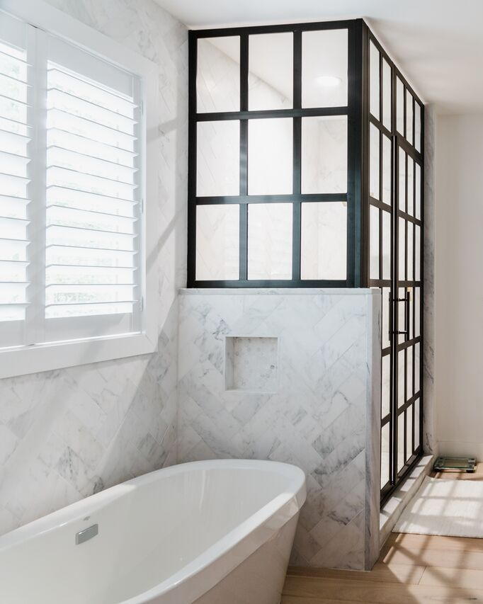 4x12 Carrara Bathroom Tile